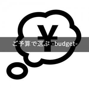予算で選ぶ